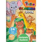 Βιβλίο ζωγραφικής THE LITTLIES Α4 24σελ. Ζώα 646820
