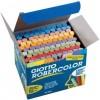 Κιμωλίες Χρωματιστές πλαστικές Giotto σε κουτί 100τεμ. 59256