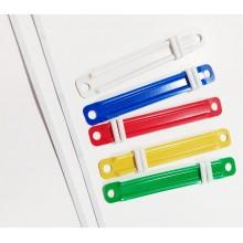 Έλασμα πλαστικό Spadi χρωματιστό 8cm 50τεμ.