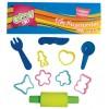 Εργαλεία  & Καλούπια πλαστελίνης GROOVY 10 τεμ. 076083