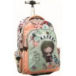 Τσάντα πλάτης τρόλευ GIOVAS ANEKKE JANE 48X33X28 346-96074