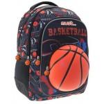 Τσάντα Πλάτης Must Basketball, 32cmX18cmX43cm, 25lit, 4 θήκες, 579804