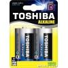 Μπαταρίες Toshiba D LR20/1.5V 2τεμ